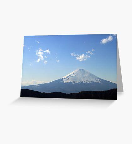 Eternal Fuji Greeting Card