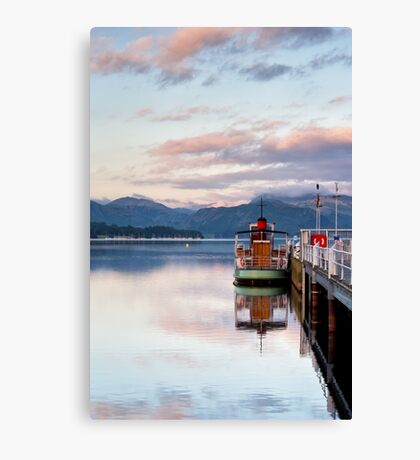 Pooley Bridge Steamer Terminal Canvas Print
