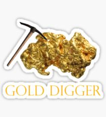 Denver Nuggets - Gold Digger Sticker