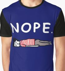 Nope - Lazy Graphic T-Shirt
