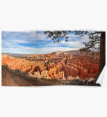 Bryce Canyon National Park, Utah, USA. Poster
