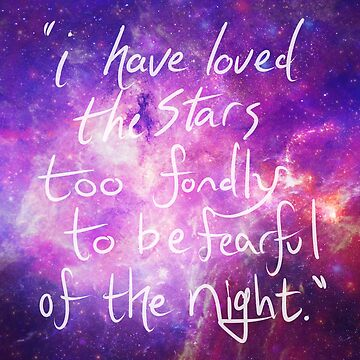 I have loved the stars too fondly - Sarah Williams by ragequeen94