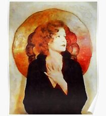 Greta Garbo, Vintage Hollywood Actress Poster