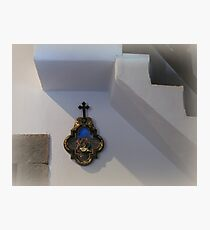 Via Crucis - the IX-th Station Photographic Print