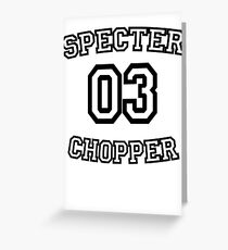 Specter 03 Greeting Card