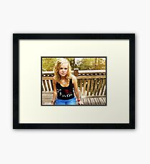 I'm Feeling Like Autumn Framed Print