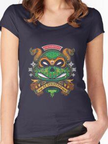 Dia De Los Mutantes Mikey Women's Fitted Scoop T-Shirt