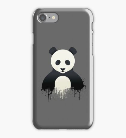 Panda Graffiti iPhone Case/Skin