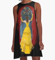 Beauty and the Beast A-Line Dress