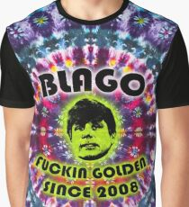 Rod Blagojevich: Fuckin Golden Since 2008 - Tie Dye Shambhala Graphic T-Shirt