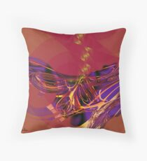 "Fractal: ""Abstract"" Throw Pillow"