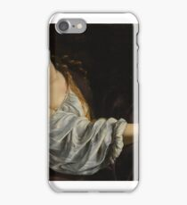 Artemisia Gentileschi (Italian Baroque painter,  approx.). Mary Magdalene iPhone Case/Skin