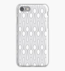 Kitchen Spoon Silhouette iPhone Case/Skin