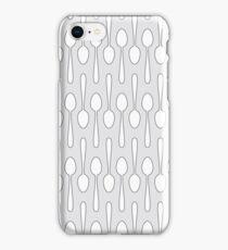 Kitchen Spoon Silhouette iPhone Case/Skin