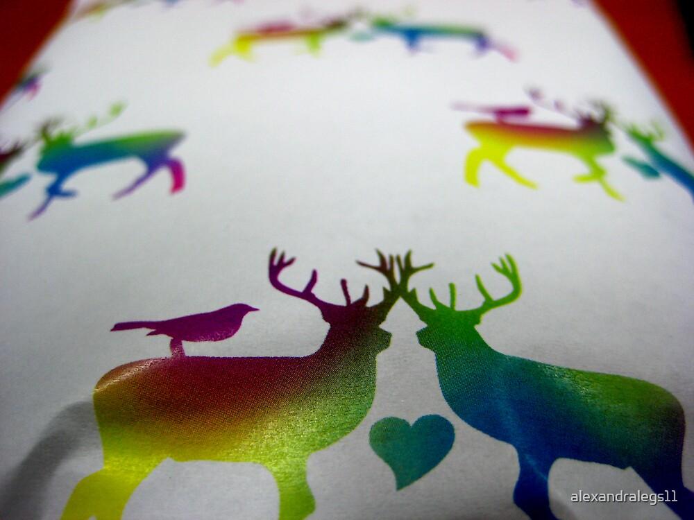Rainbow Gift by alexandralegs11