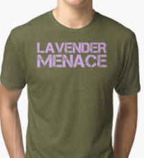 Camiseta de tejido mixto LAVANDA MENACE