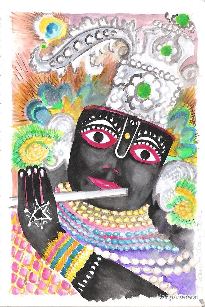 Hindu God Krishna by Danpatterson