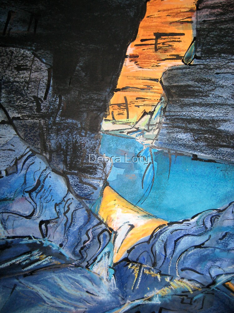 Canyon Depths by Debra Loty