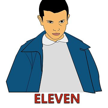 Eleven Stranger Things by grappler