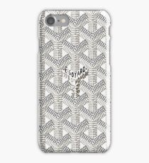 Goyard White For Phone Case iPhone Case/Skin