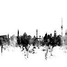 Stuttgart Germany Skyline by Michael Tompsett