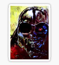 Darth Vader Alien Terminator Mashup Sticker