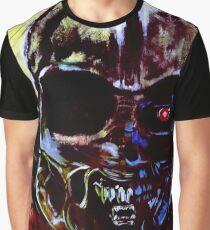 Darth Vader Alien Terminator Mashup Graphic T-Shirt