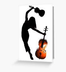 Musicality... Greeting Card