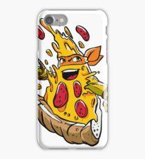 Pizzalangelo TMNT iPhone Case/Skin