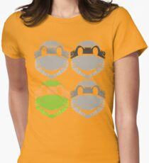 Legendary Turtles - Mikey Womens Fitted T-Shirt