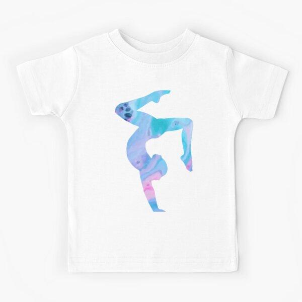 Unicorns Because People Suck Unicorn Handstand Kids Girls T-Shirt