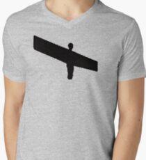 Angel of the North Men's V-Neck T-Shirt