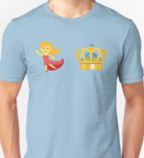 Dancing Queen Emoji Graphic T-Shirt