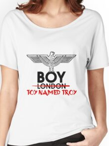 BOY TOY NAMED TROY Women's Relaxed Fit T-Shirt