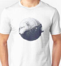 Wolf Yin Yang  Unisex T-Shirt