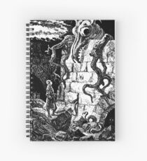 The Gnarled Monster Spiral Notebook