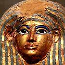 Egyptian death mask by annalisa bianchetti