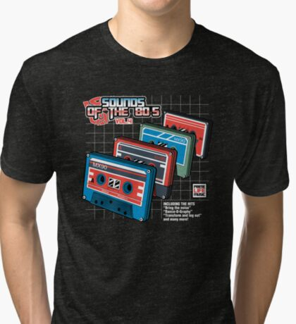 Sounds of the 80s Vol.4 Tri-blend T-Shirt