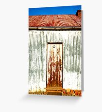 Shed 2 Greeting Card