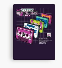 Sounds of the 80s Vol.3 Canvas Print