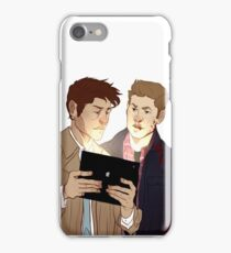 Hunter husbands iPhone Case/Skin