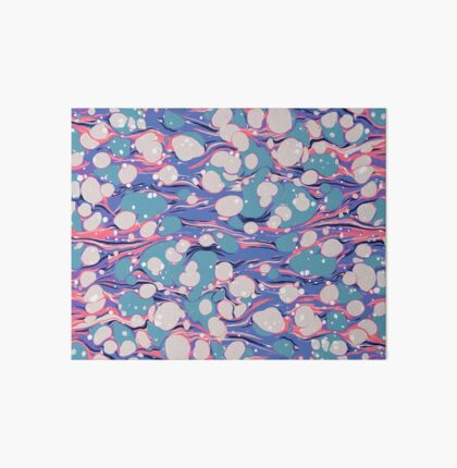 Hip Hop Love Psychedelic Purple Marble Paper Surf Pepe Psyche Art Board