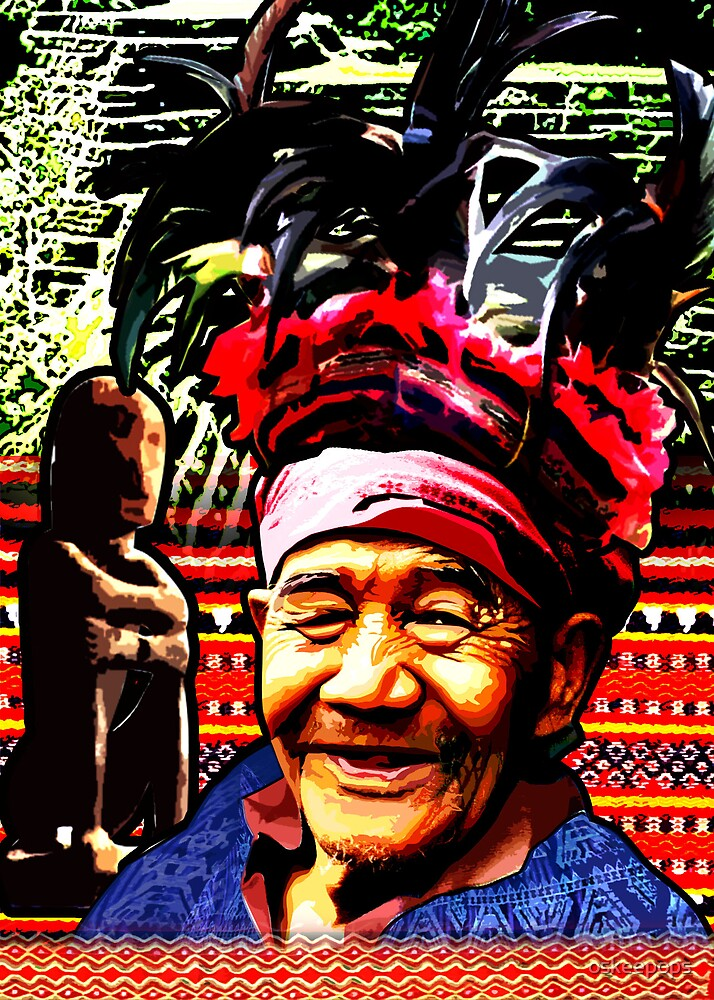 old man of ifugao by oskeepops