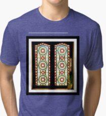 A Window in Henley Tri-blend T-Shirt