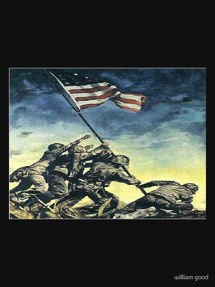 flag raising by william47