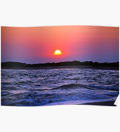 Glorious Cape May Sunset Poster