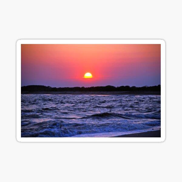 Glorious Cape May Sunset Sticker