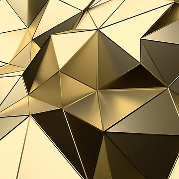 Gold geometric by wolfncat