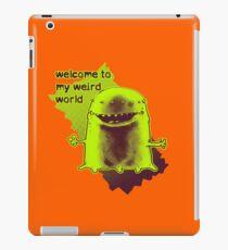 weird alien funny cartoon iPad Case/Skin