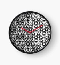 Manipulated waves Clock